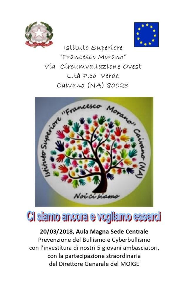 BROCHURE BULLISMO E CYBERBULLISMO 20-03
